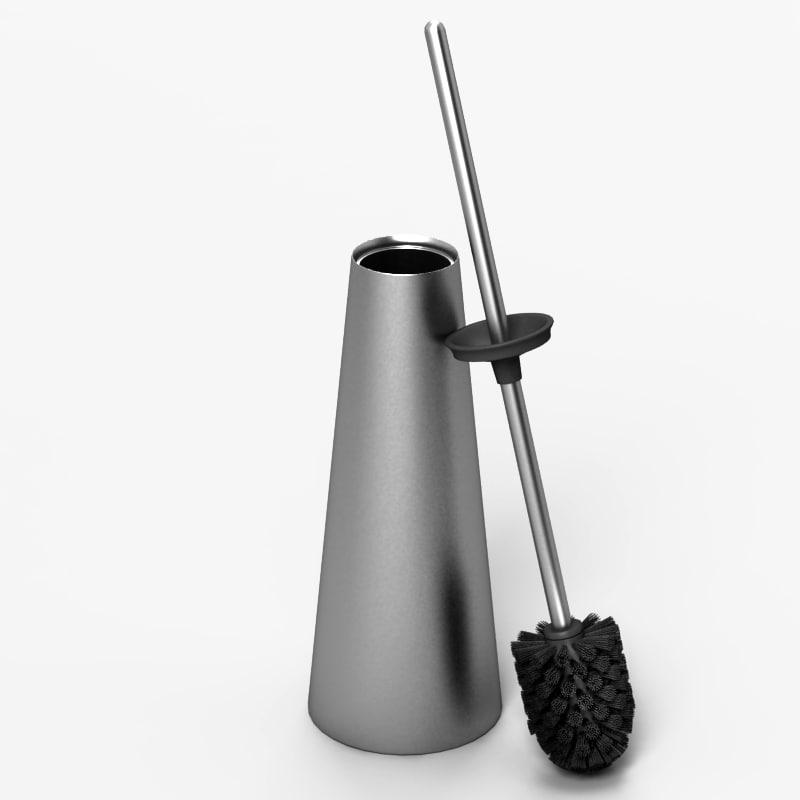 3d model toilet brush