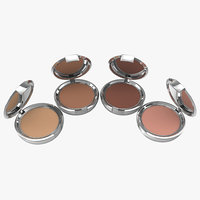 compact makeup powder 3d max
