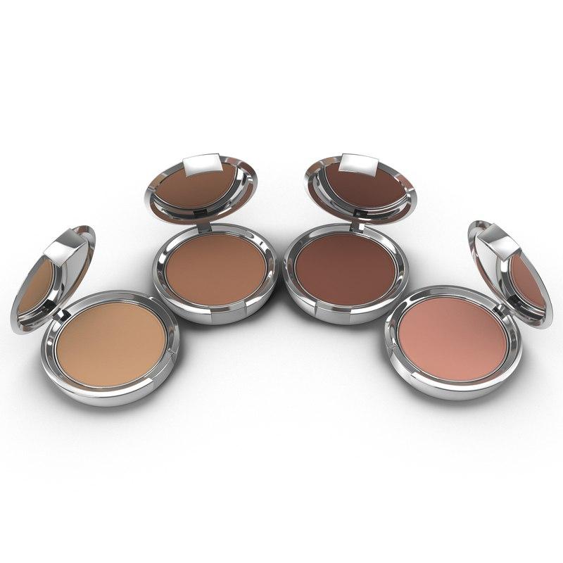 compact makeup powder 3d max