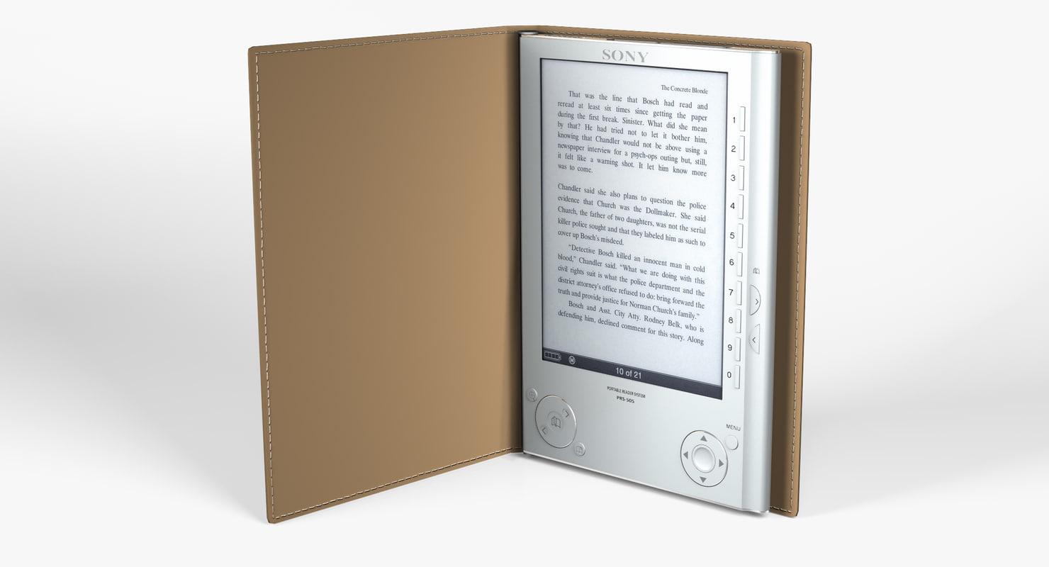 lightwave sony e-reader