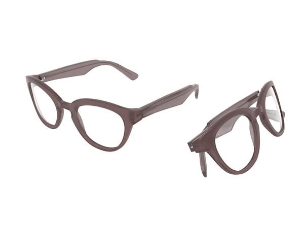 3ds designer eyeglasses