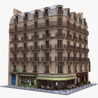 Paris Corner Tenement Pharmacy 01
