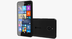 microsoft lumia 640 xl obj