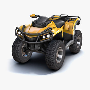 atv vehicle 3d 3ds