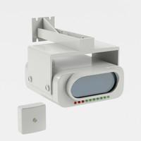 3d smoke detector