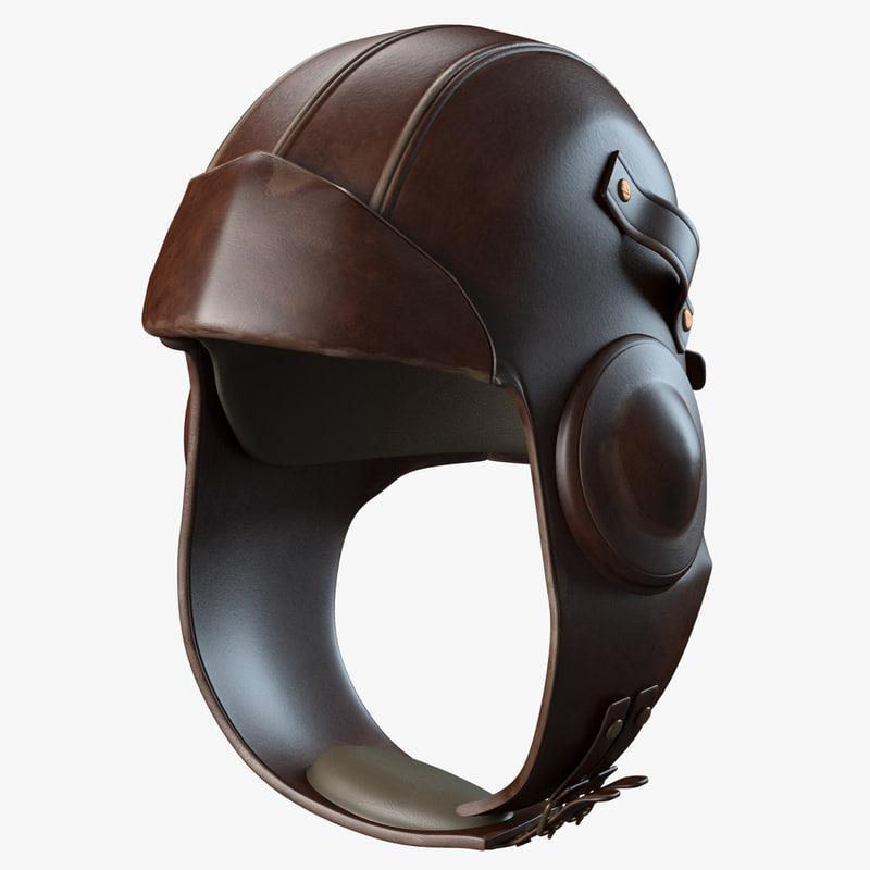 3ds max aviator helmet