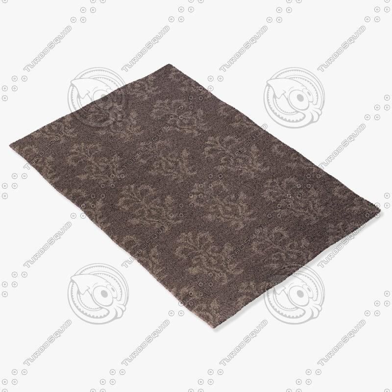 jaipur rugs ub26 3d model