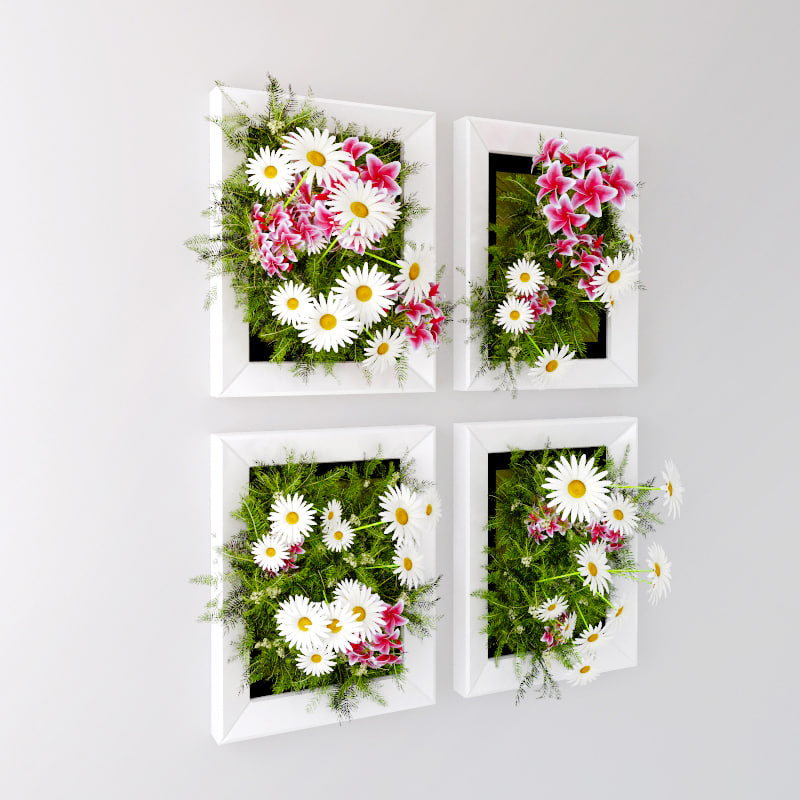 flowers wall max