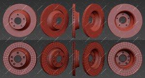 3d model brake disk