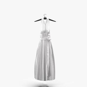 marilyn monroe s dress 3d max