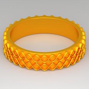 3d golden ring