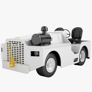 3ds max tow tractor