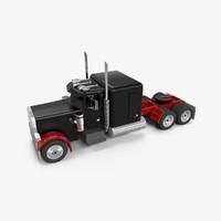 3d model of truck cab