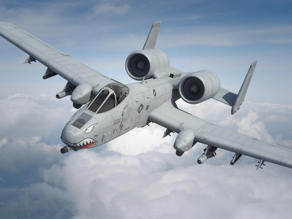 a-10 thunderbolt fairchild c4d