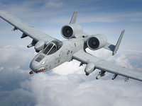 a-10 thunderbolt fairchild c4d