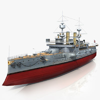 3d hms triumph dreadnought battleship