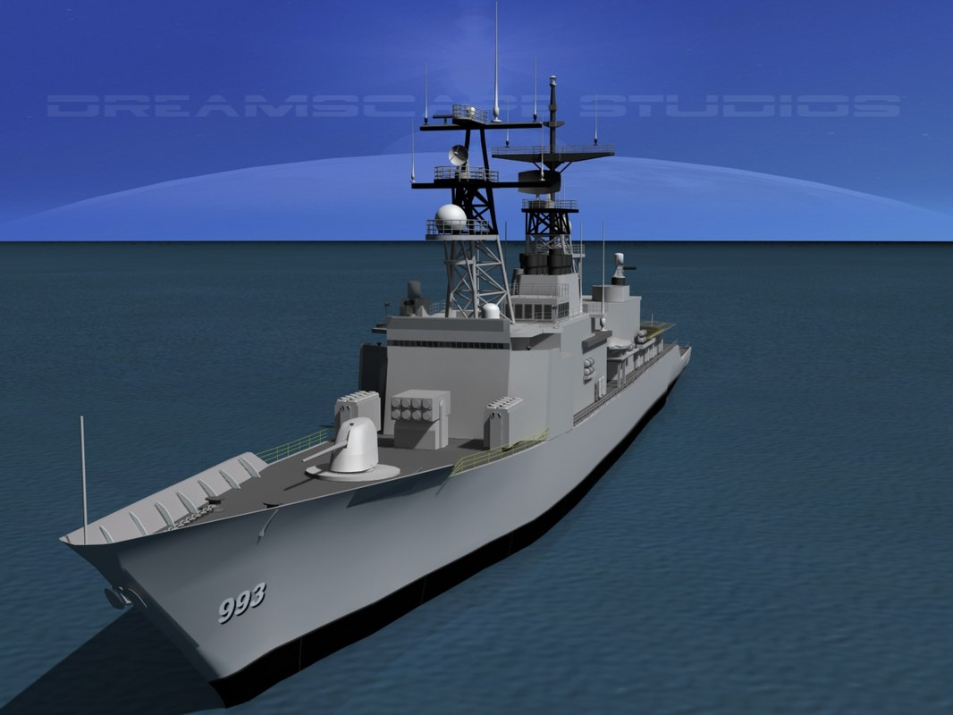 kidd class destroyer 3d 3ds