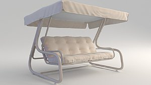 3D model swing garden