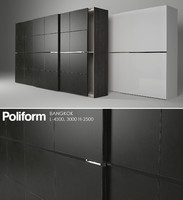3d model wardrobe poliform bangkok