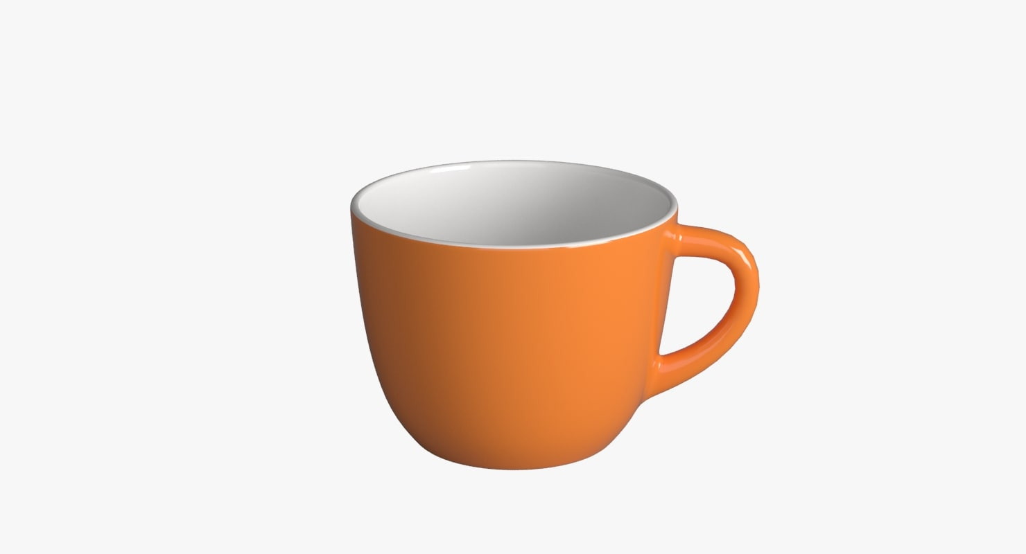3d cofee cup