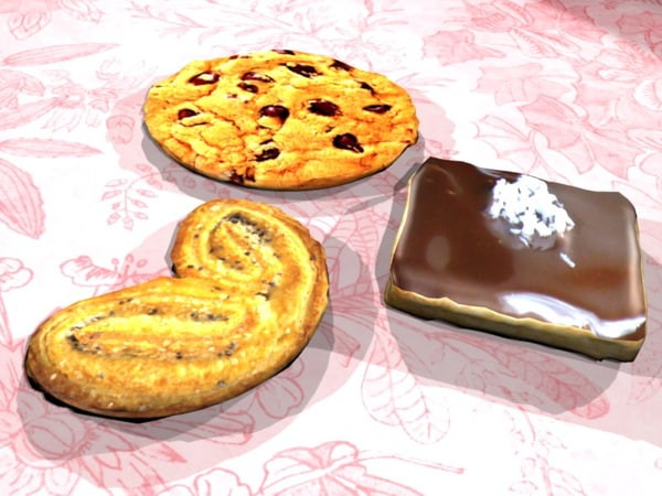 3d cookies