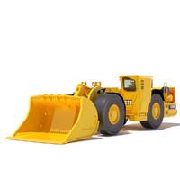 3ds underground mining loader