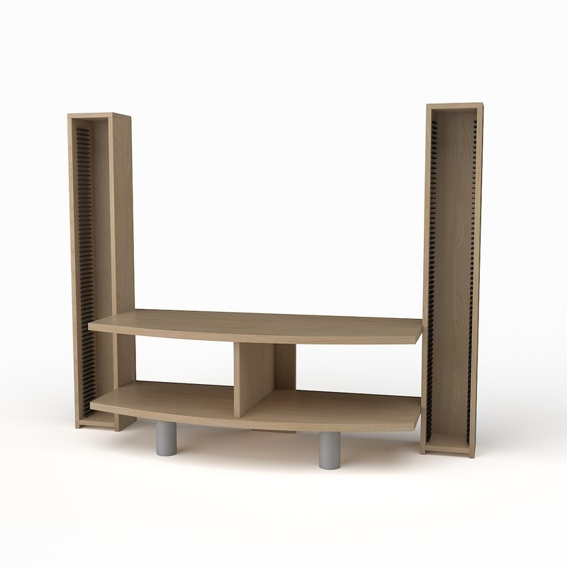 3d max tv stand