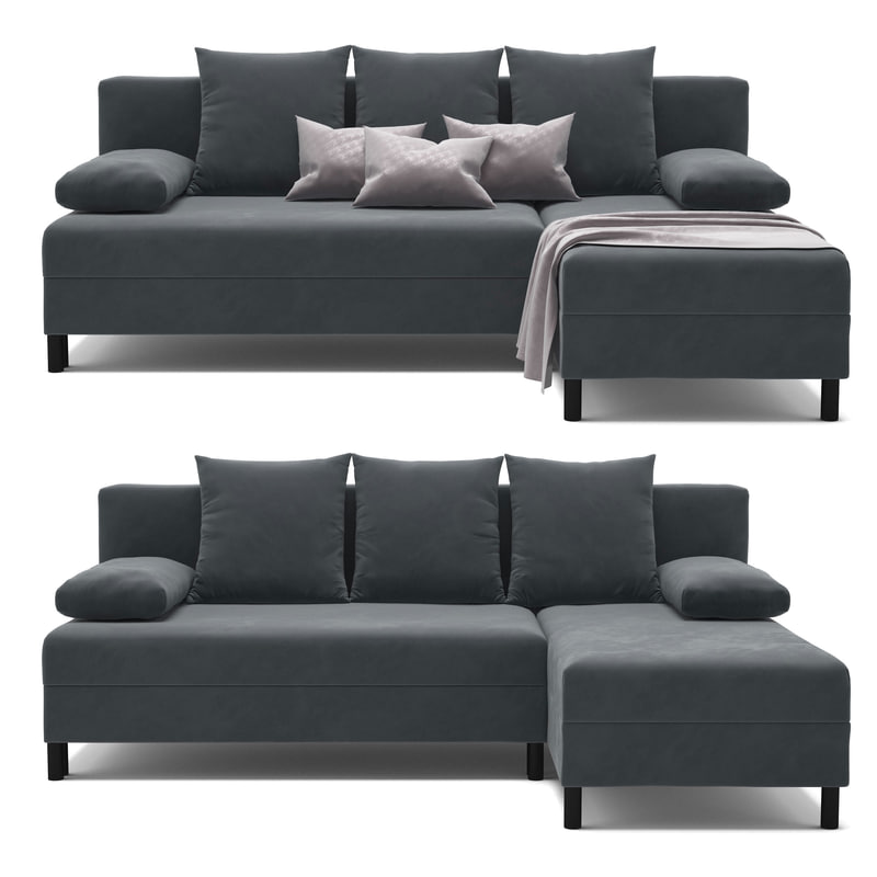angsta ikea sofa 3d model