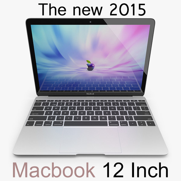 3d macbook 12 inch 2015