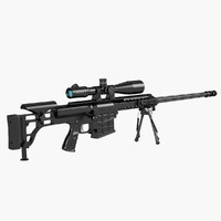 Sniper rifle Barrett M98B