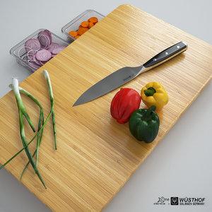 3d model slice board