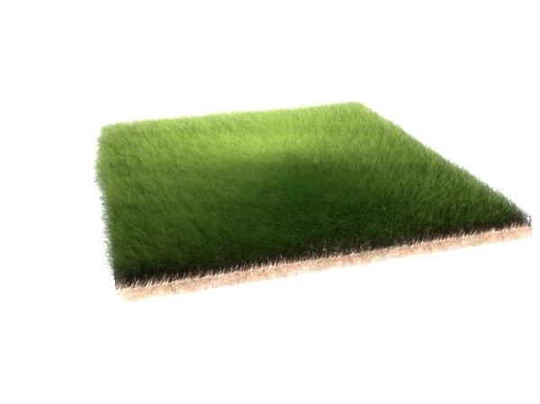 dynamic grass 3d c4d
