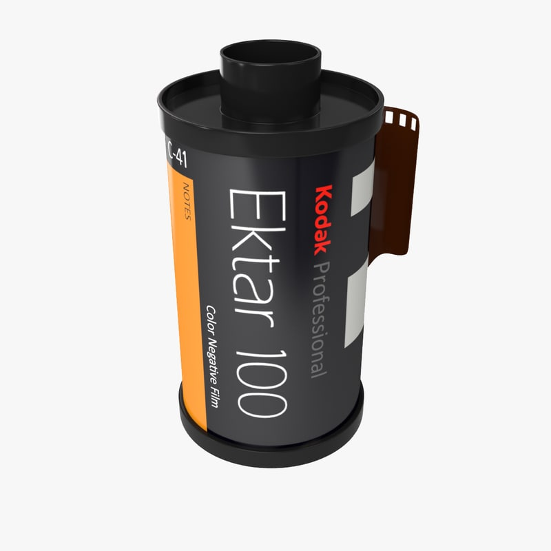 kodak 35mm film 3d model