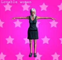 lovable woman 3d x