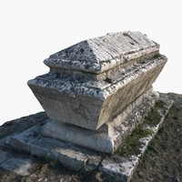 ancient tomb 3d model