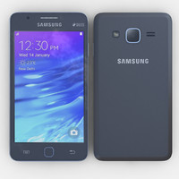 3d model samsung z1 black