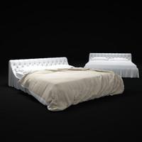 3d bohemian-bed model