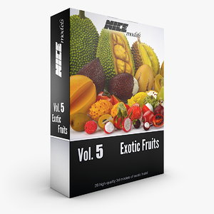 - vol 5 exotic 3d obj