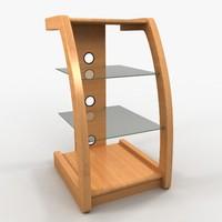 3d component shelf