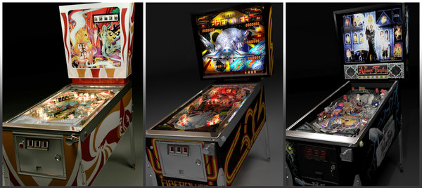 3d pinball machines