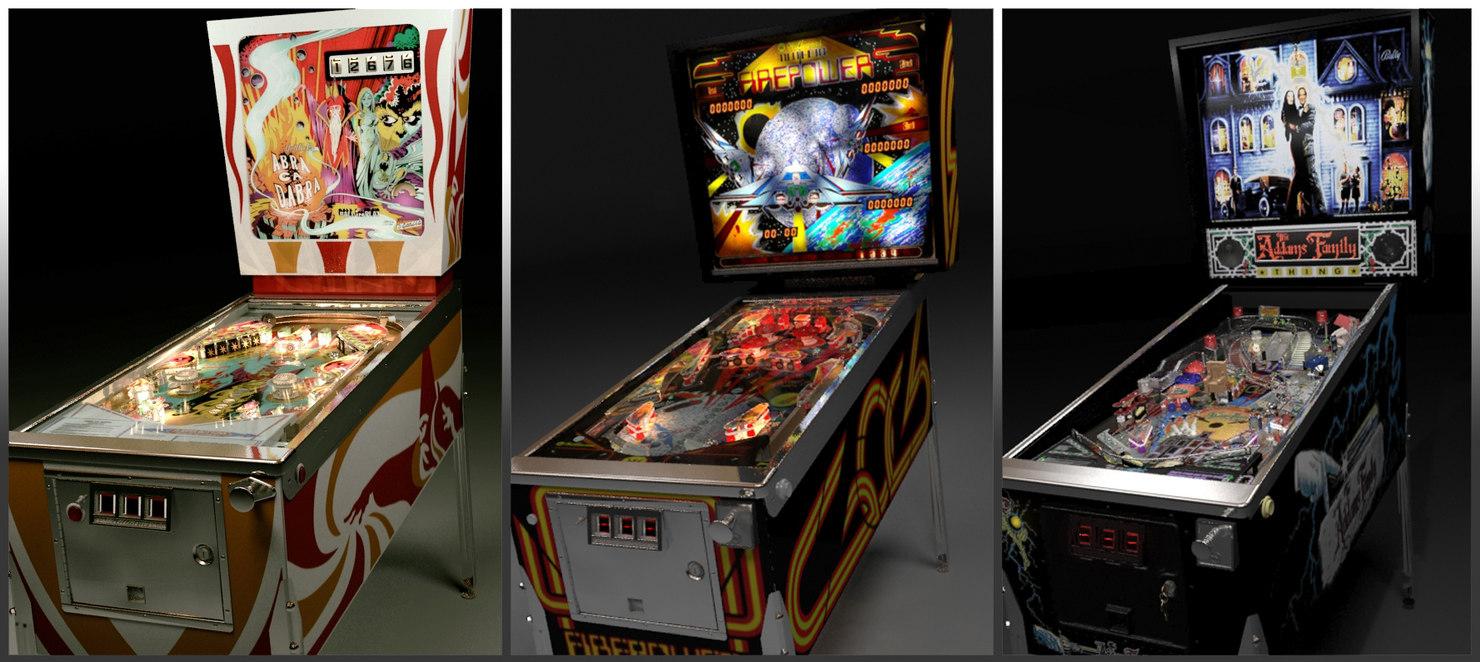 3d pinball machines