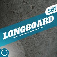 3d longboard set
