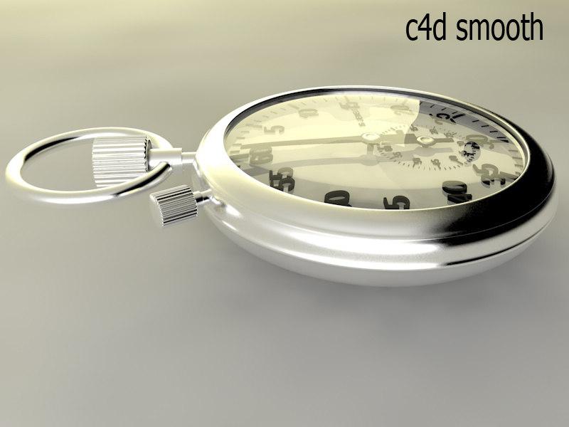 3d model mechanical stopwatch
