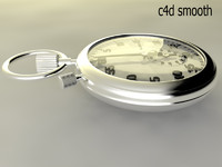 3d model mechanical stopwatch