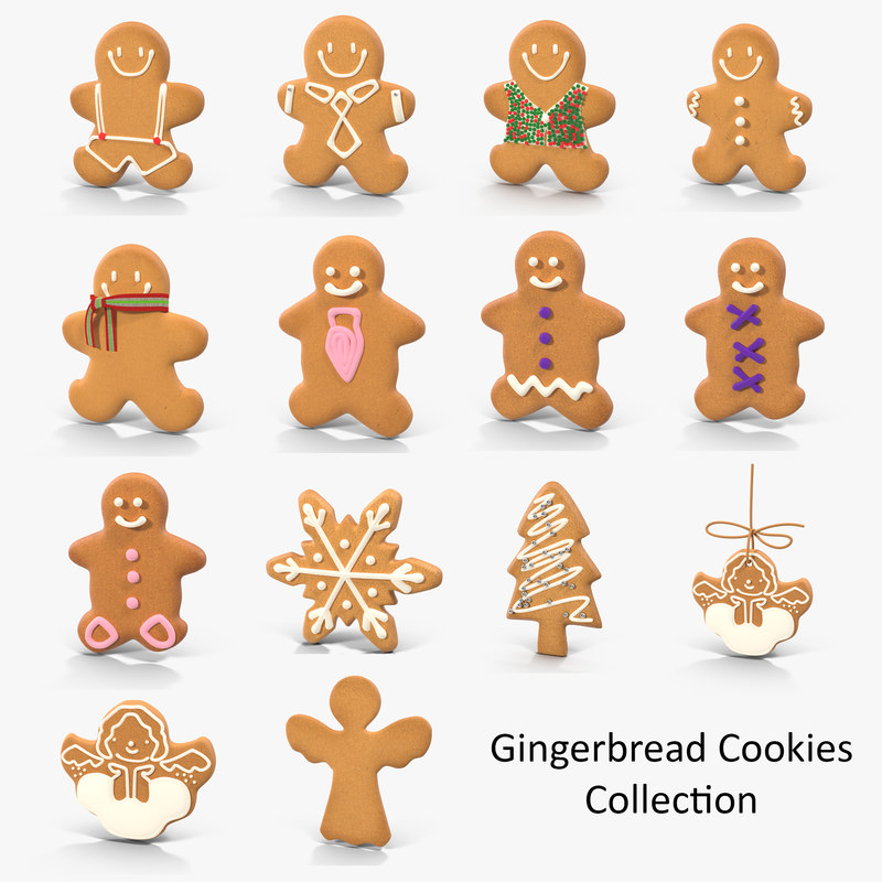 gingerbread cookies max