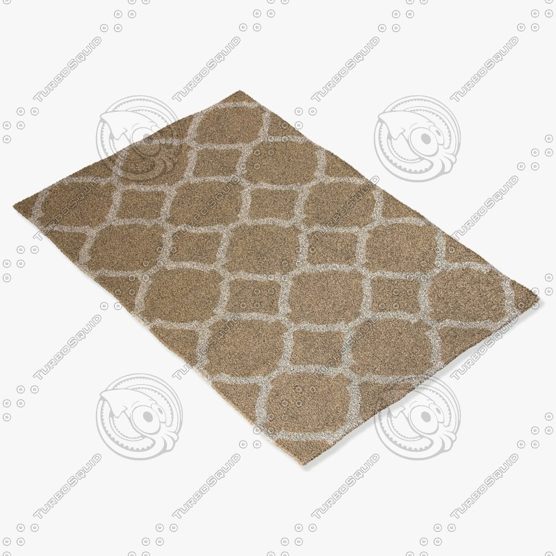 jaipur rugs mr20 3d model