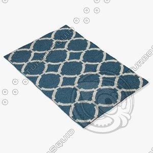 jaipur rugs mr19 3d model