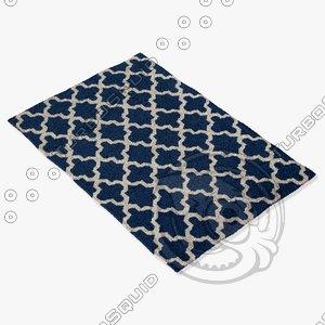 jaipur rugs mr107 3d max