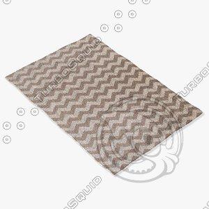 jaipur rugs mr105 3d model