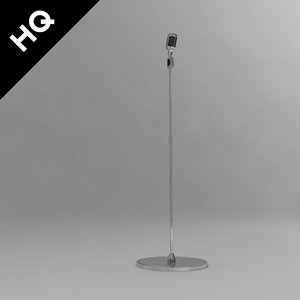 3d model microphone mic micro